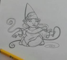 Sunday Gnomedays 3-26-17 by rachelillustrates
