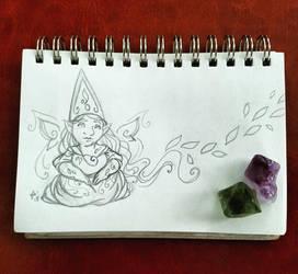 Sunday Gnomedays 7-29-18 by rachelillustrates