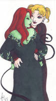 Harley and Ivy by rachelillustrates
