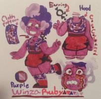 SUOC: Purple Winza Ruby by CocoCabanna