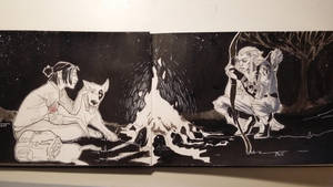 Inktober whole page by JRoessler