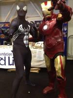 My Ironman suit at Dublin Comic Con 2014 by jonny3777