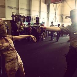 Silent hill vs The walking dead cosplay by jonny3777