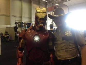 Me with the walking dead sheriff by jonny3777
