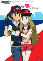 PKMN V - Ash and Serena II by Blue90