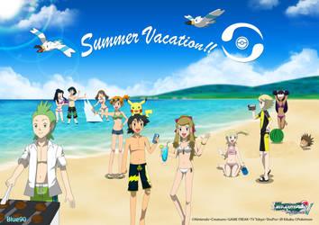 PKMN V - Group Beach (Summer 2014) by Blue90