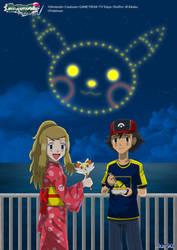 PKMN V - Ash and Serena IV by Blue90