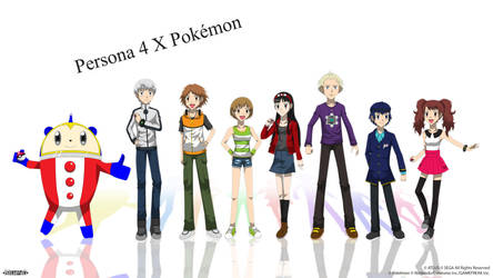 Persona 4 X Pokemon - Investigation Team by Blue90