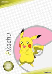 PKMN V - Pikachu A4 Artwork (VER. 4) by Blue90