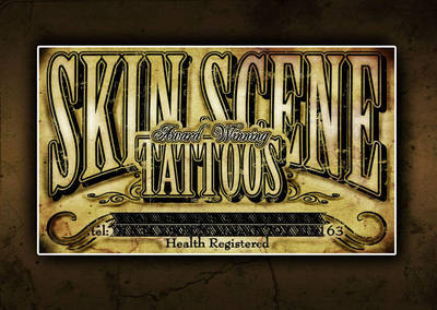 Tattoo Shop Business Card I By H8edge On Deviantart