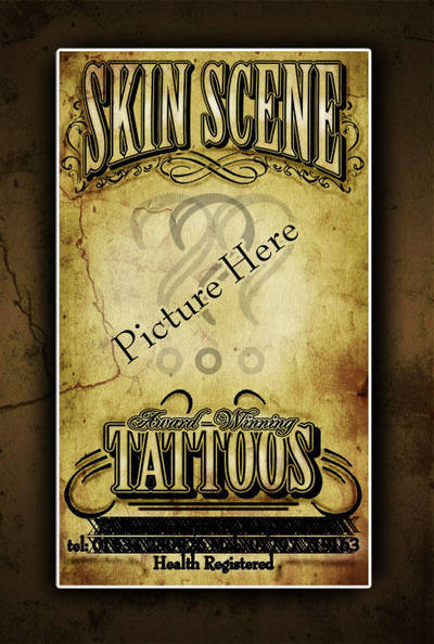 Tattoo Shop Business Card Ii By H8edge On Deviantart