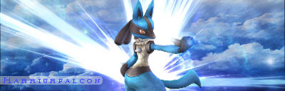 Lucario Sig :: v1 by Harrierfalcon