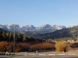 Fall Mountains by ElkStarRanchArtwork
