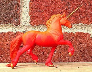 Kab-Fire Unicorn by ElkStarRanchArtwork
