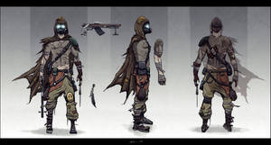Post Apocalyptic Trooper by nixuboy