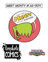 HeroesCon Flyer by freshy77