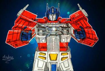 Optimus Prime y la matrix del liderazgo by Andrea20790