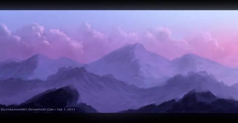 Purple mountains majesty by Enigmatic-Ki