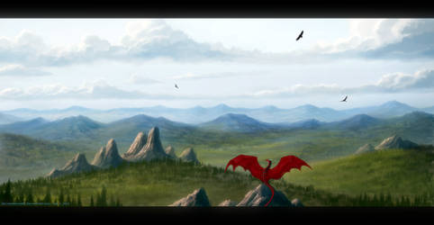 The New World ~ Speedpainting by Enigmatic-Ki