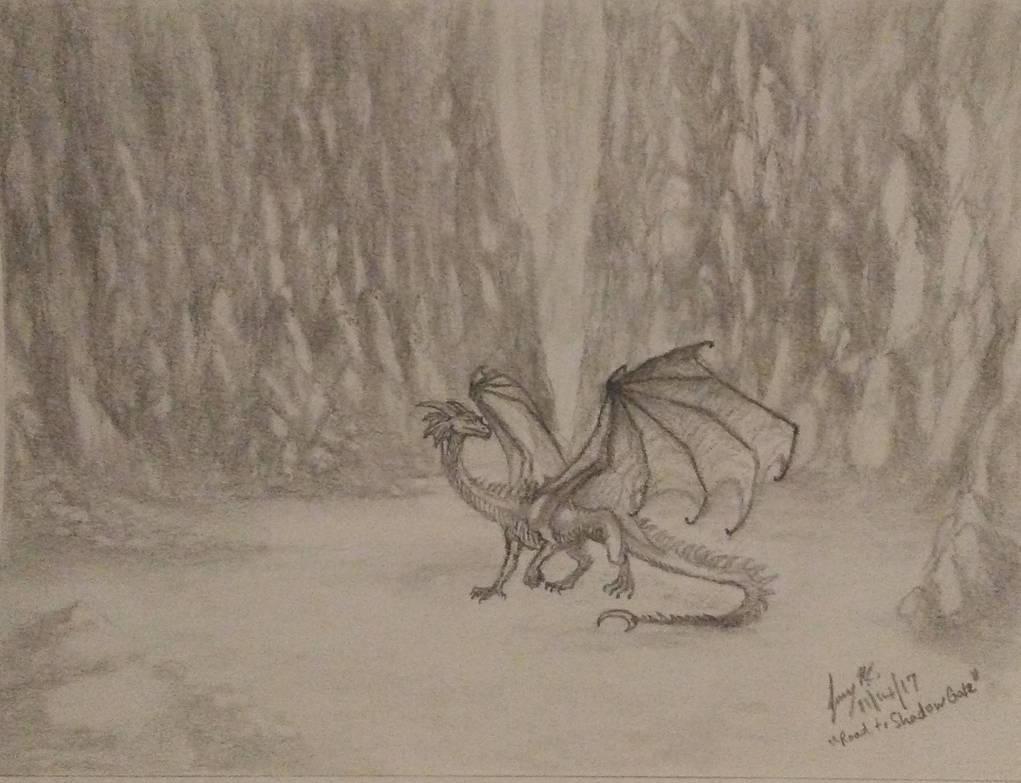 Road to Shadow Gate by Enigmatic-Ki