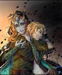 LoZ: At Least one Last Hug by kalisami
