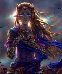 The Legend of Zelda: The Blue Cape by kalisami