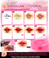 Lip Tutorial by kalisami