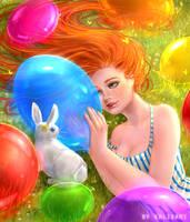 Balloons by kalisami