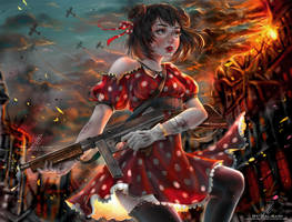 Minnie's War by kalisami