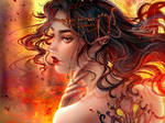 Fire Princess by kalisami