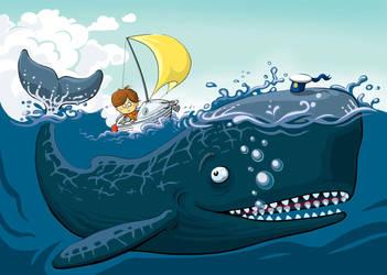 At sea by klori