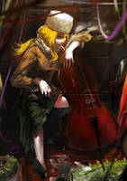 Banished Cellist by syh3iua83