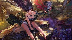 Perishing Flower by syh3iua83