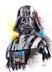 Darth Vader by beoulve