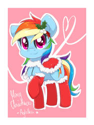 Christmas Dashie by Agletka