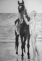 A vintage erotic movie poster by stevie-wydder