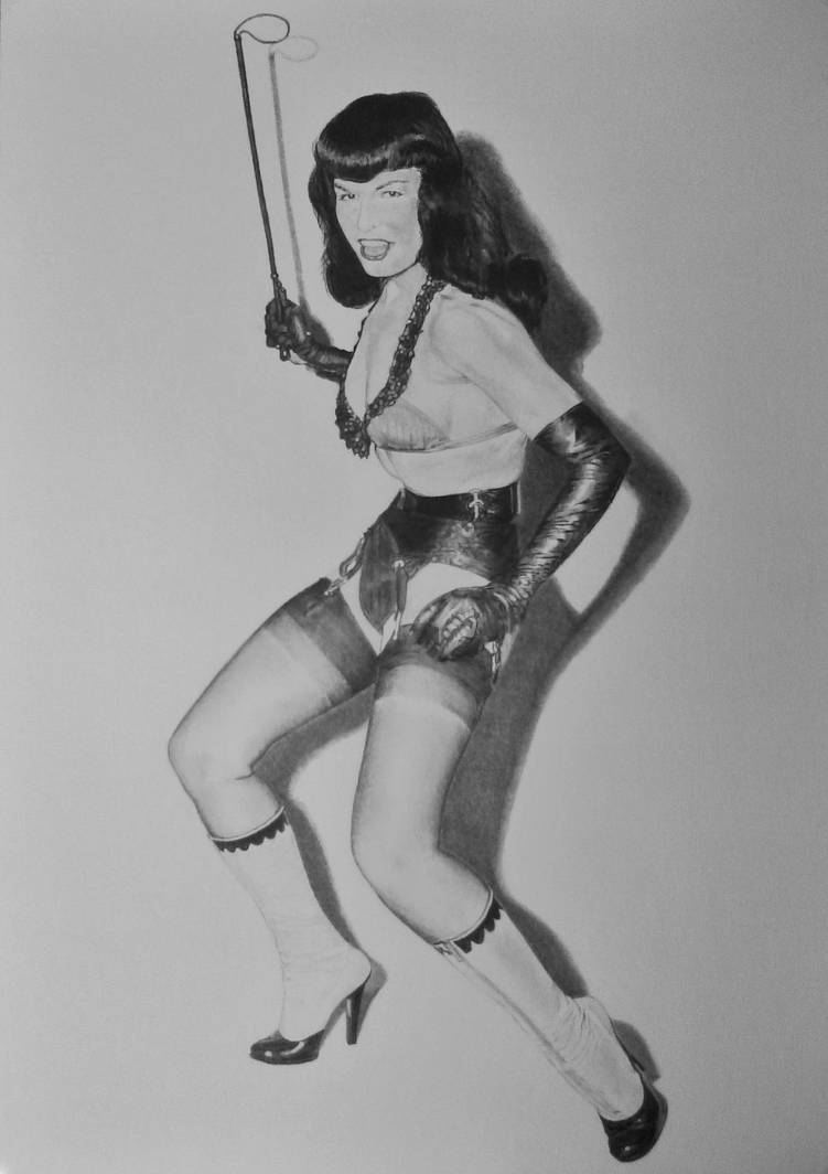 Betty Page by stevie-wydder