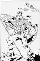 Captain America is Alive by PeterPalmiotti