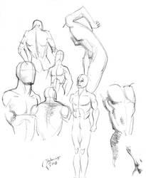 Figure studies. by PeterPalmiotti