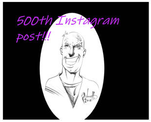 500th post on Instagram! by PeterPalmiotti