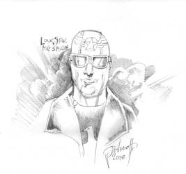 Lonestar sketch. by PeterPalmiotti