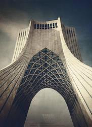 Azadi Tower by rezasasanian