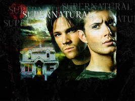 Supernatural DVD Background by ObsidianBlk