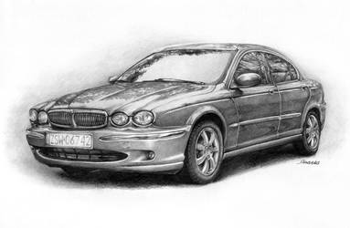 Jaguar X-Type by Sandersk