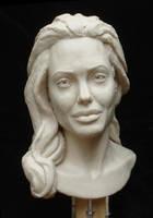 Angelina Jolie WIP by tecciztecatl