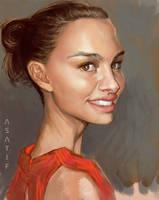 Natalie Portman? by aplicarte