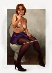 sit woman by Asatif by aplicarte