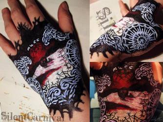 Kyuutai Hand Tattoo by SilentCarnival