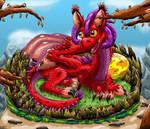 Stranger the Baby Dragon by KarenRoop
