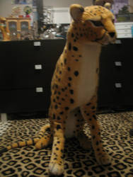 Giant Melissa and Doug Cheetah for sale/trade by T-D-L--Photography